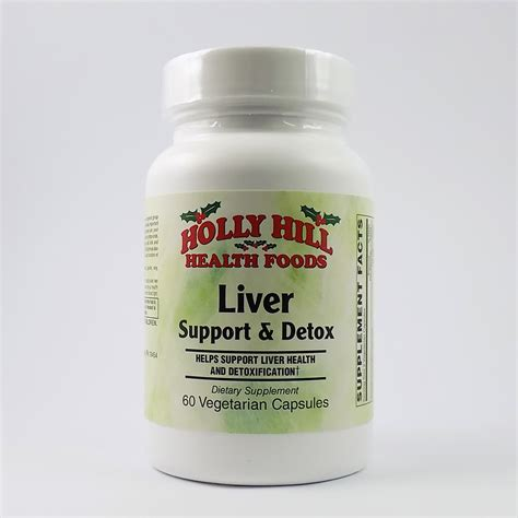 Liver Detox Products by Hill Health Foods Liver Support Detox 60