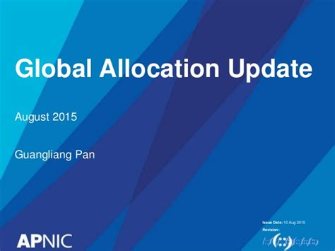 Global Ip Address Lookup Cnnic Opm Global Ip Address Allocation Update
