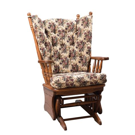 glider armchair amish highback glider rocker glider chairs glider