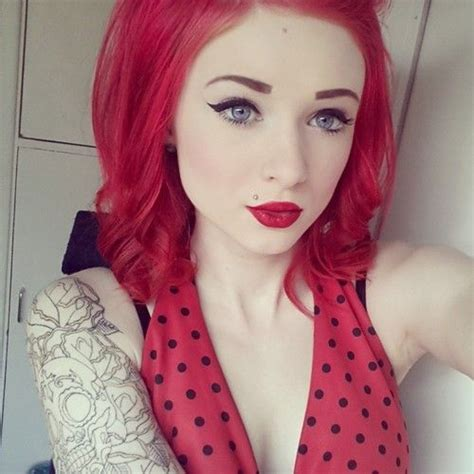 tattoo fixers red hair gallery girls with red hair and tattoos tumblr