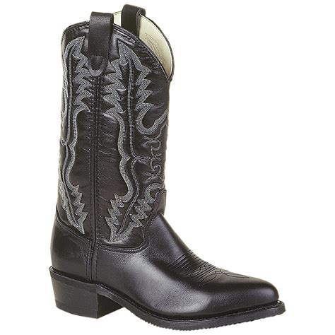steel toe cowboy boots for s 12 quot h 174 steel toe western dress boots