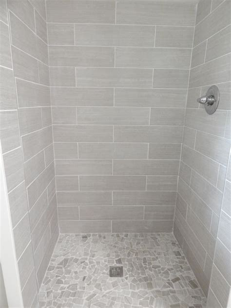 tile for bathroom shower walls everything from lowe s shower walls 6x24 leonia silver