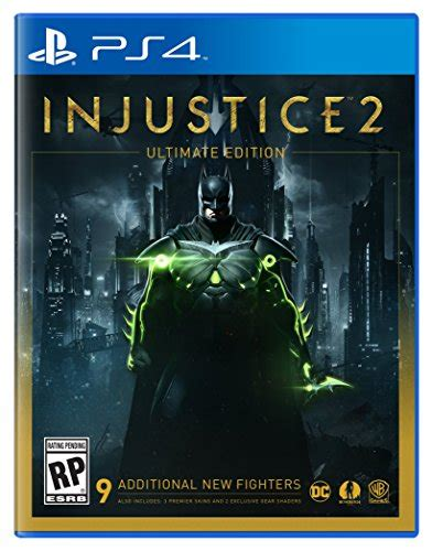 Kaset Ps4 Injustice 2 Injustice 2 Ultimate Edition Playstation 4