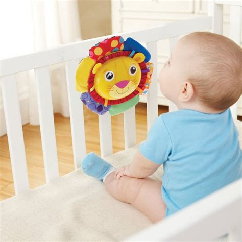 Lamaze Logan The Crib Soother by Lamaze Logan The Soother Crib Educational Toys