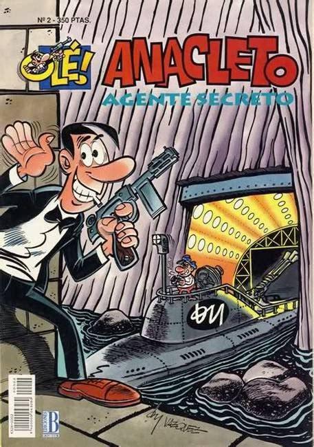 libro anacleto agente secreto ole 1993 b 2 ficha de n 250 mero en tebeosfera