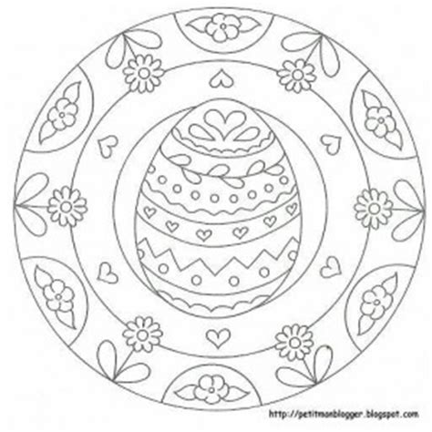 easter mandala with birds and eggs coloring page free preschool easter egg mandala coloring 4 171 preschool and
