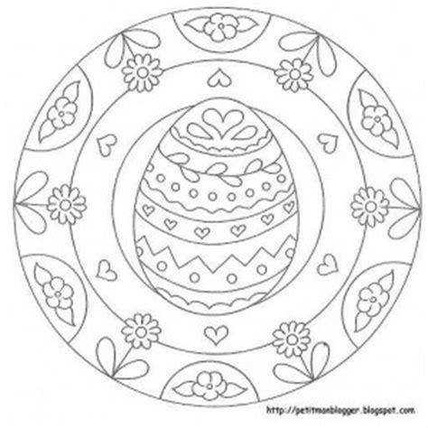 easter eggs mandala coloring pages mandala coloring preschool easter egg mandala coloring 4 171 preschool and