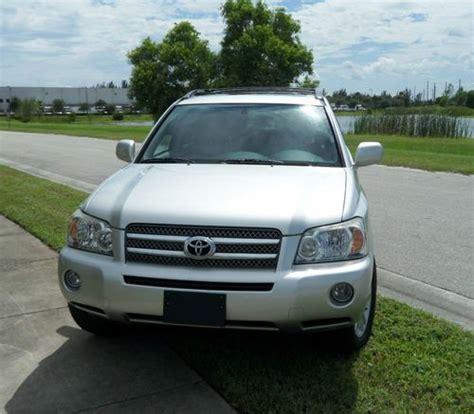 Used Toyota Highlander In Usa Buy Used 2007 Toyota Highlander Hybrid Limited Inspected