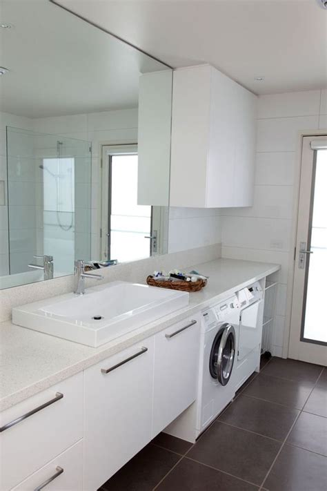 25 best ideas about bathroom laundry on