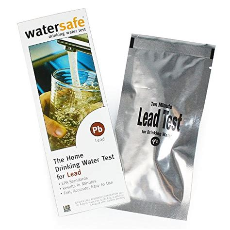 watersafe water test kit for lead import it all