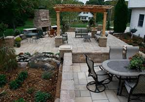 Ideas For Backyard Patio Outdoor Patio Designs Hayfield Mn Landscaping And Landscape Design For Patio Retaining Wall
