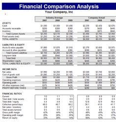 Credit Monetary Analysis Format Financial Ratio Financial Statement And Balance Sheet On