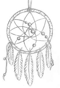 dreamcatcher coloring pages catcher tattoos
