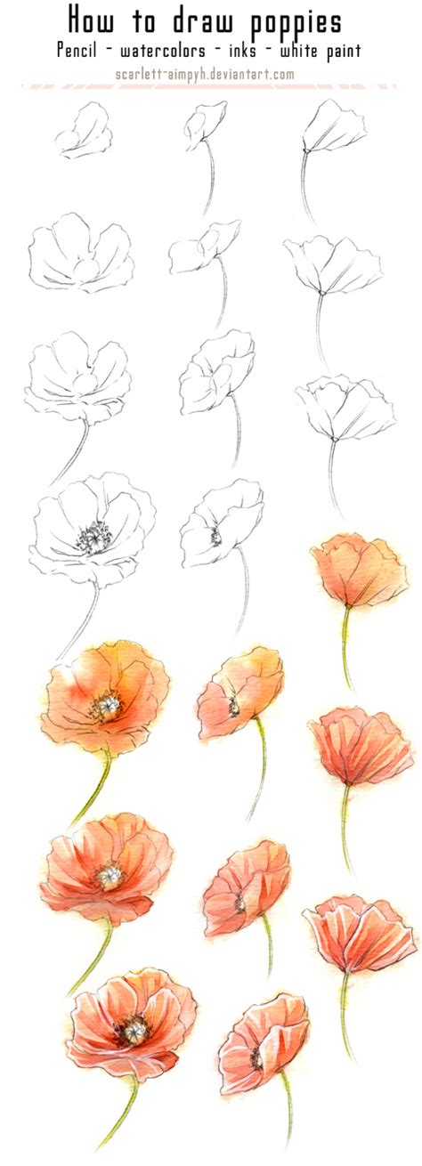 Make Your Own Watercolor Paper - 20 delicate colorful watercolor flowers painting tutorials