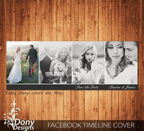 cover photo collage template photoshop wedding timeline cover template photo collage