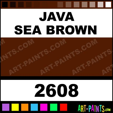 java sea brown h2o foam styrofoam foamy paints 2608 java sea brown paint java sea