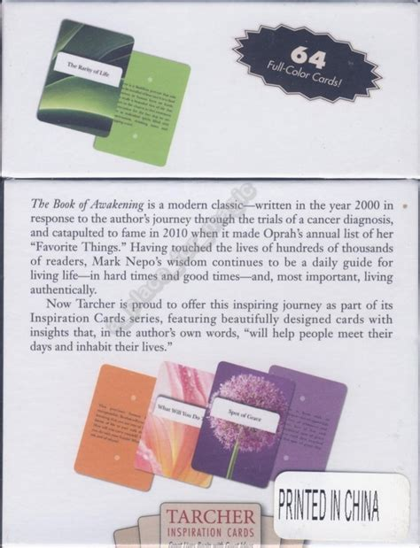 The Book Of Awakening the book of awakening inspiration cards deck nepo