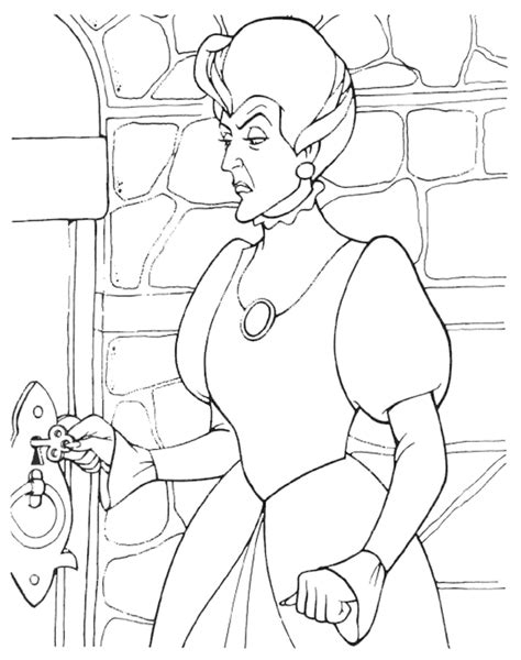 lady tremaine google search disney coloring pages
