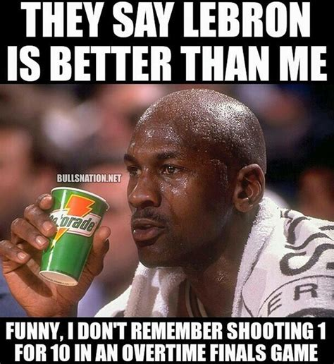 Jordan Meme - nba memes on michael jordan lebron james and nba