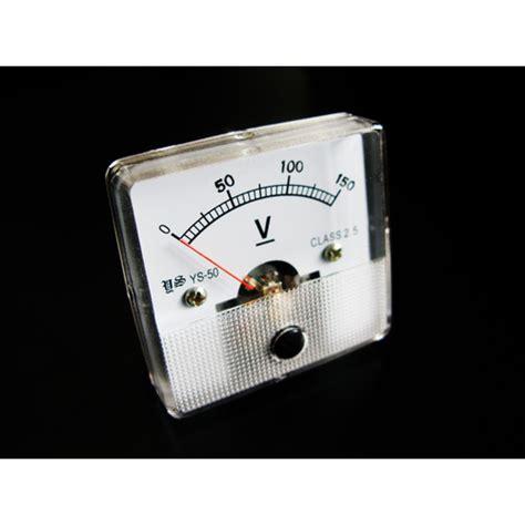 Voltmeter Dc Analog analogue voltmeter dc 0 150 volts mr positive nz