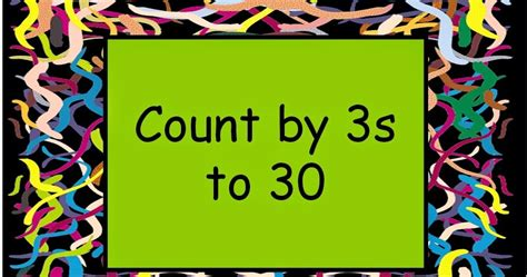student survive  thrive skip count     math flash cards