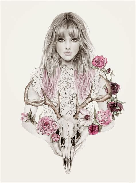 Gorgeous Fashion Illustrations by Harleen Bharj Birdy Me