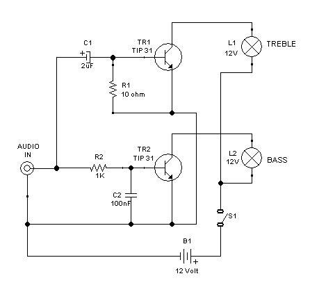 bass treble circuit diagram hi lo treble bass disco l controller deeptronic
