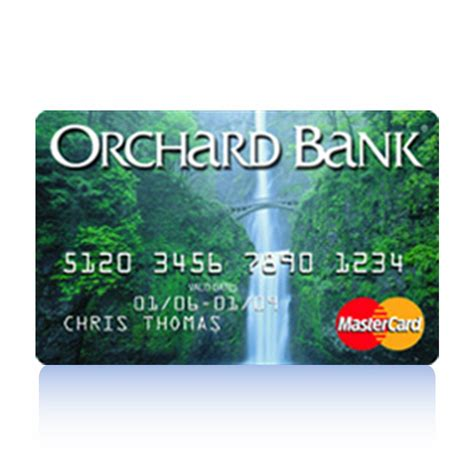 credit bank orchard bank credit card