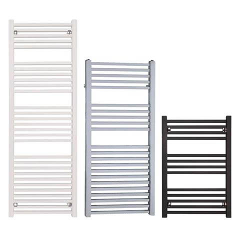 White Bathroom Radiator by Central Heating Square Heated Towel Rail Bathroom