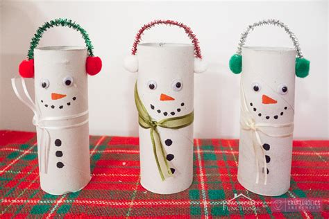 snowman toilet paper roll craft craftaholics anonymous 174 diy toilet paper roll snowmen