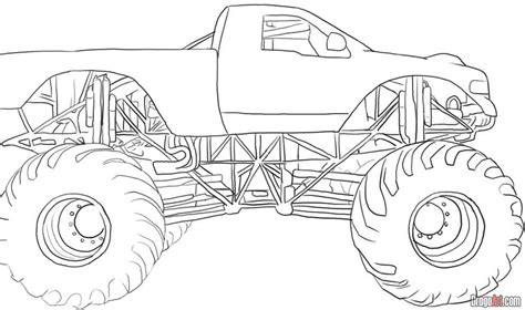 grave digger monster truck coloring pages printable coloring pages of diggers coloring pages