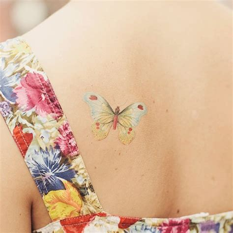 the delicate butterfly tattoos inspirebee