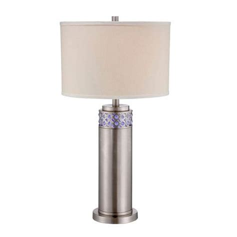 mini style table ls cinzia polished steel led table l lite source accent
