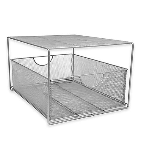 cabinet pull out bed buy org mesh slide out cabinet drawer with shelf from bed