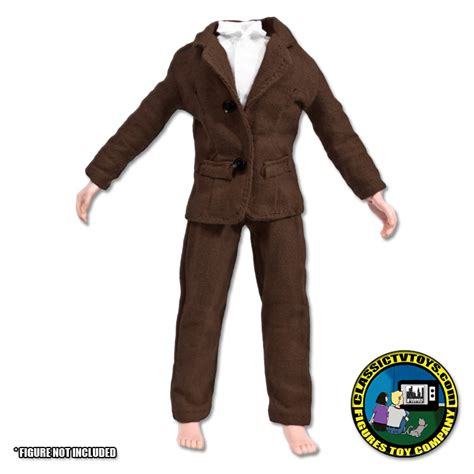 8 inch figure clothes brown suit for 8 inch figures