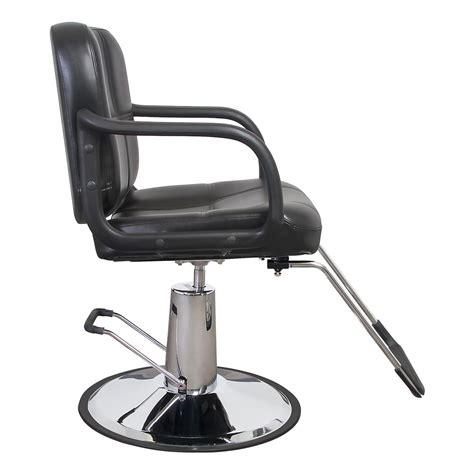 Hair Salon Chair by Black Quilted Hair Salon Styling Chair