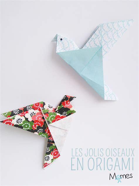 Dessin Oiseau Origami by Un Oiseau En Origami Momes Net