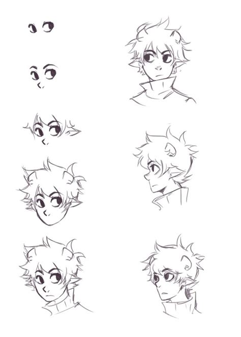 line art portrait tutorial ikimaru s face tutorial if i had one wish it d be to