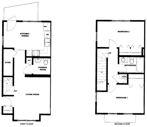 half bath floor plans two bedroom one and one half bath douglass square