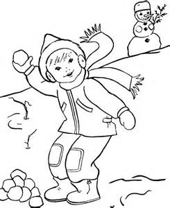 winter coloring page free printable winter coloring pages for