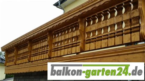 kerzenständer holz rustikal holzbalkon kufstein balkon garten24 de