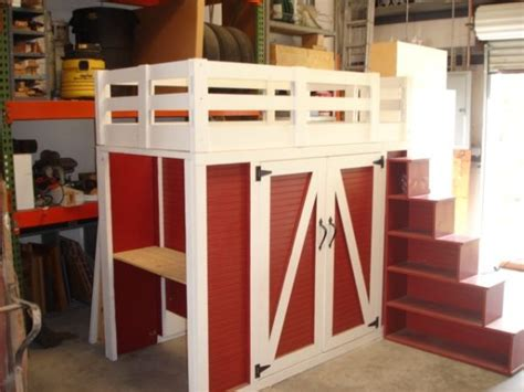 Barn Bunk Bed Quot Barn Quot Loft Bed Johannah Parks Tractor Bed And Ideas
