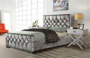 cube crushed velvet beds discount sofas cheap sofas