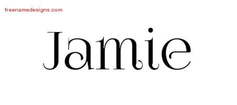 tattoo lettering jamie jamie in cursive related keywords jamie in cursive long