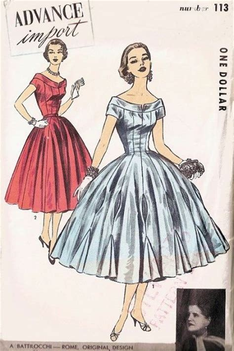 pattern for princess line dress beautiful 1950s battilocchi evening dress pattern princess