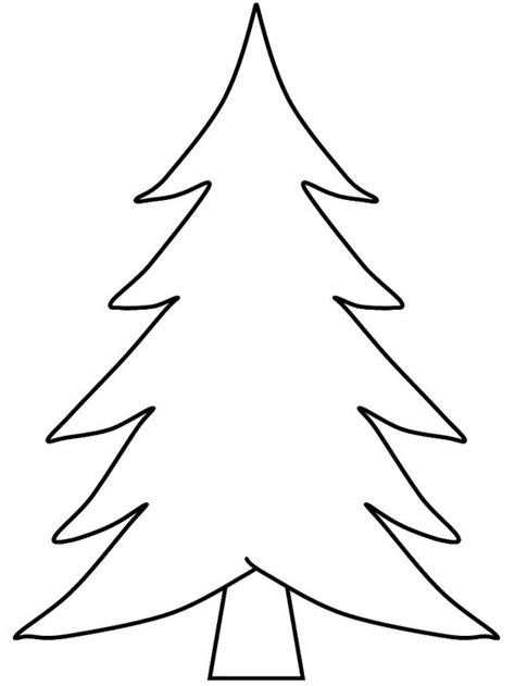 schablone weihnachtsbaum basteln mit kindern pinterest