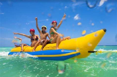 banana boat ride cancun banana boat ride dubai enjoy the thrills and spills on