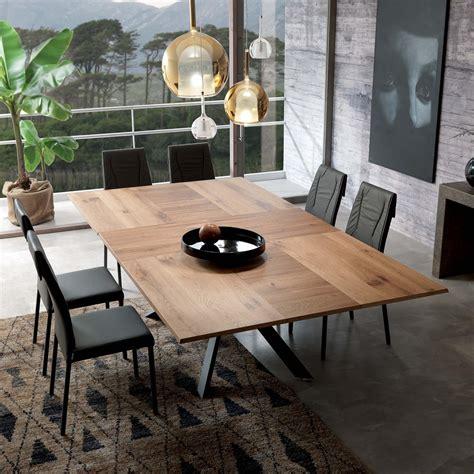 pozzoli tavoli e sedie tavolo allungabile 4x4 ozzio italia pozzoli living moving
