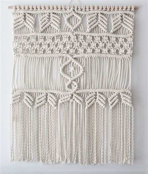 Macrame Wall Hanging Free Patterns - 1000 images about macrame wall hangings on