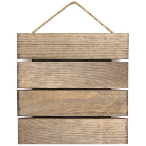 blank pallet sign  weathered wood